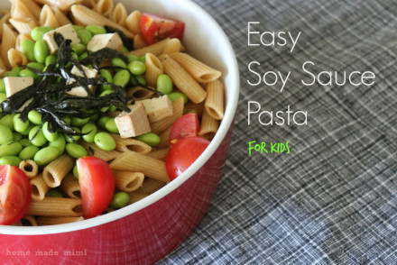 Easy Soy Sauce Pasta