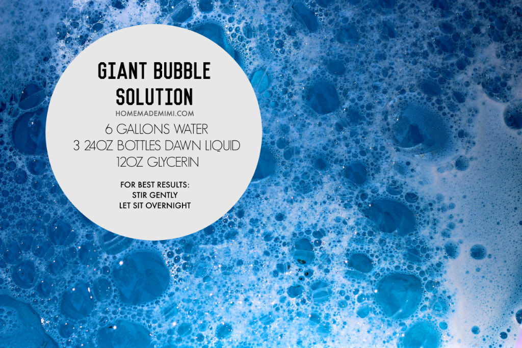 bubblesolution