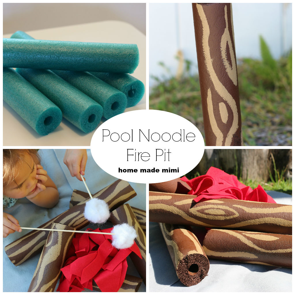 Pool Noodle Collage