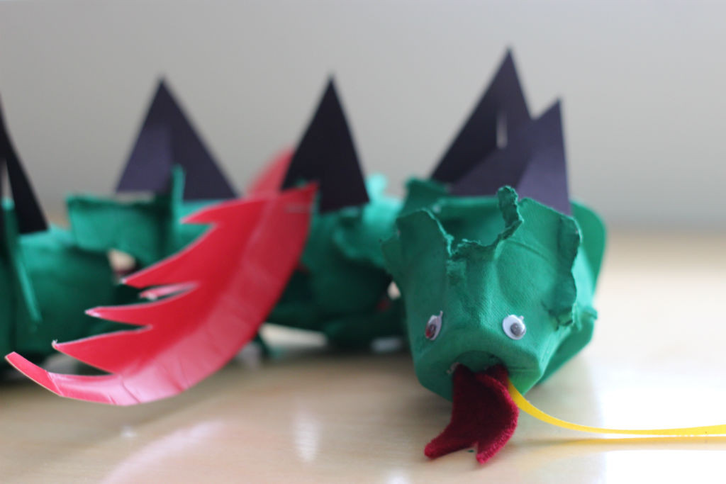 Egg Carton Dragon_2