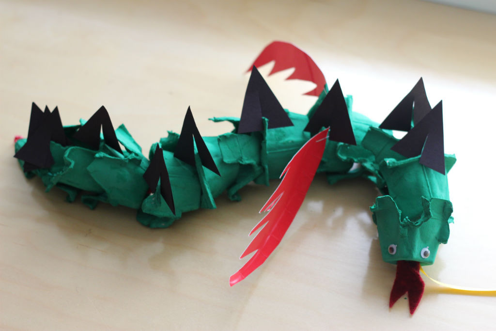 Egg Carton Dragon_3