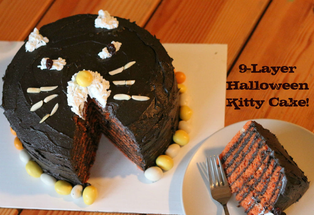 Nine-Layer Halloween Kitty Cake_1