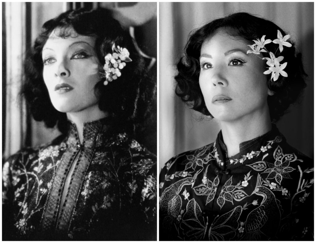 fu manchu, mask of fu manchiu, myrna loy, michelle villemaire, homemademimi, hollywood, yellowface, correction