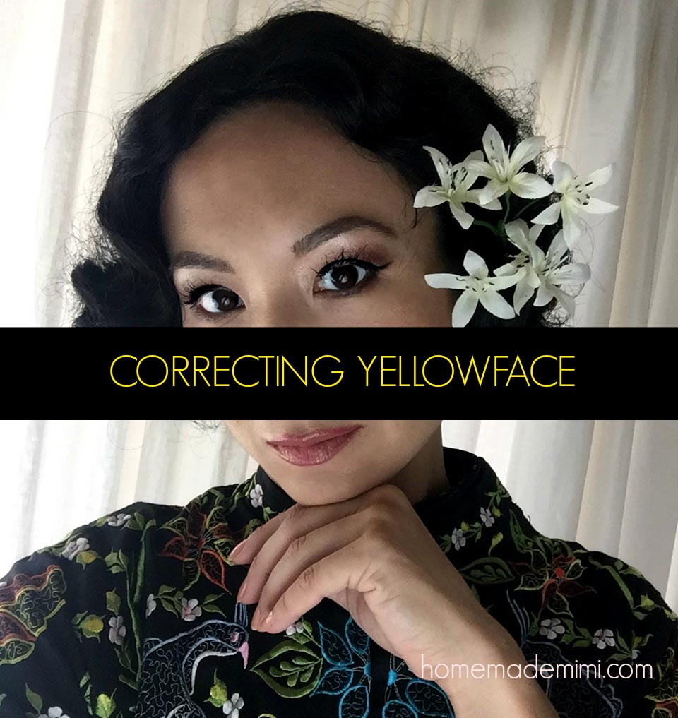 correcting yellow face, michelle villemaire, asian, diversity, hollywood