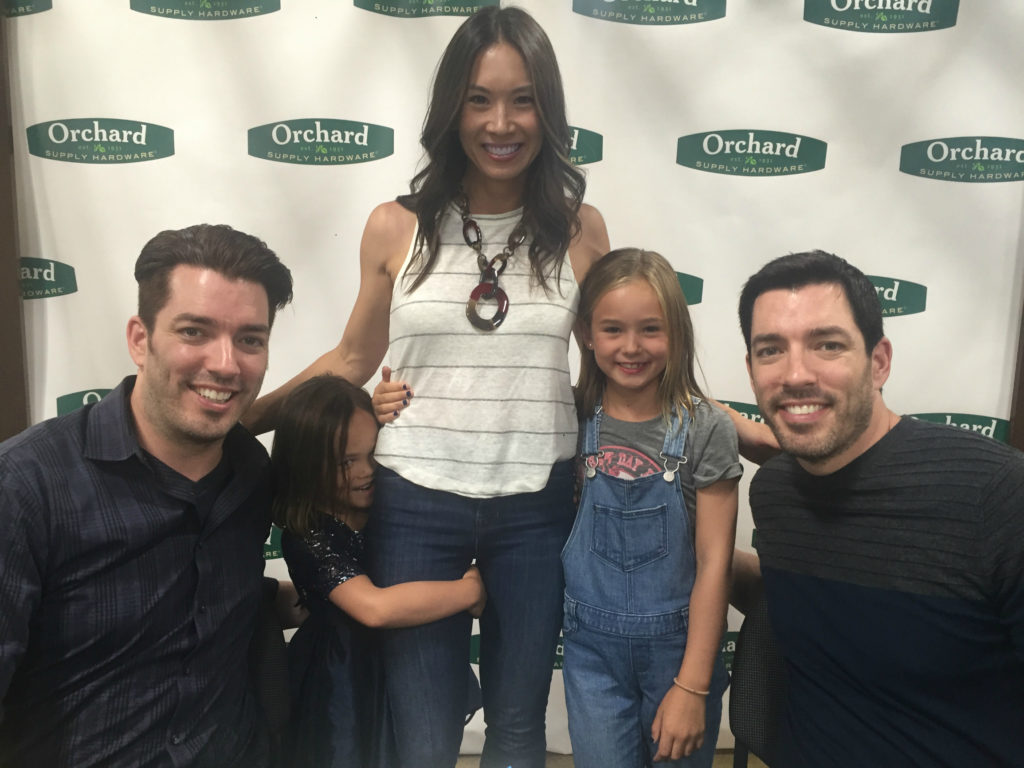 property brothers, jonathan scott, drew scott, the scott brothers, michelle villemaire, home made mimi, hgtv