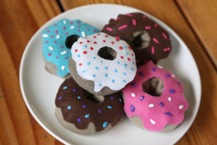 awestruck, sock donuts, crafts, kid crafts, homemademimi