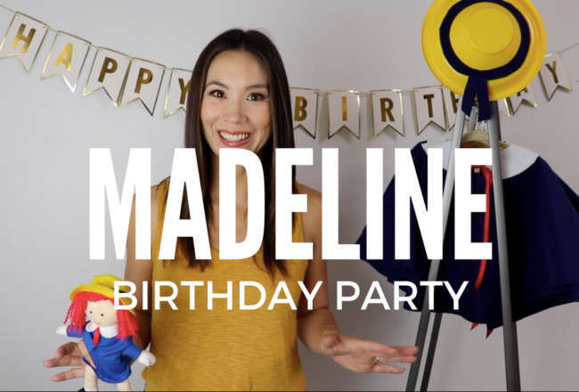 madeline party, kids parties, birthday party
