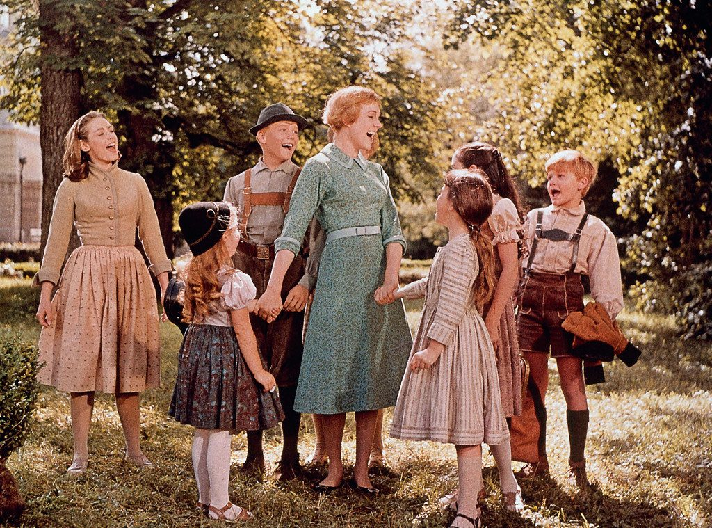 sound of music, julie andrews, julie's greenroom,