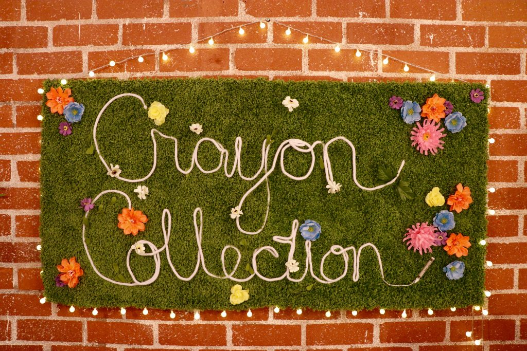 crayon collection, office makeover, DIY