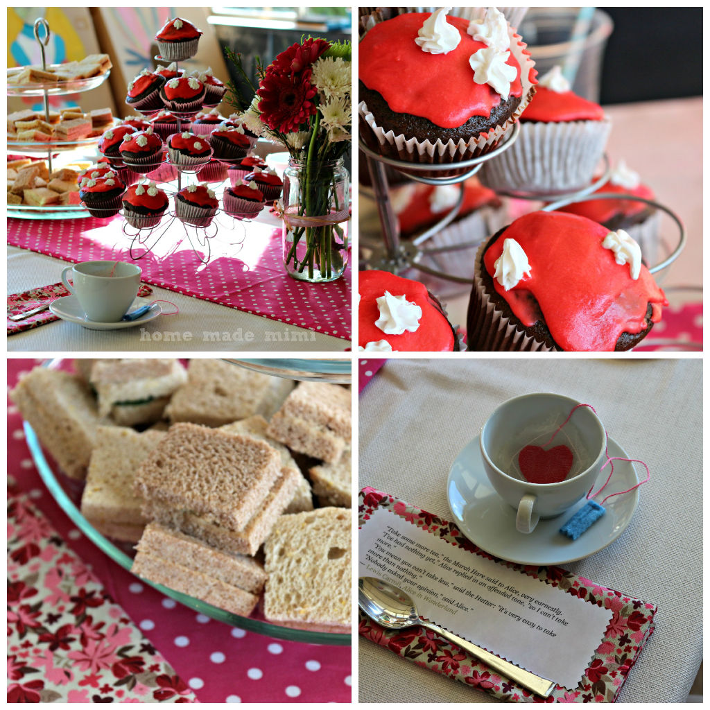 Alice In Wonderland Un-Birthday Tea Party - Home Made MimiHome Made ...