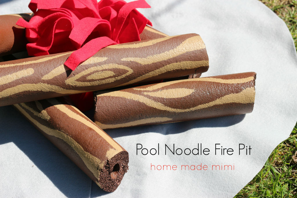 Pool Noodle Fire Pit Home Made Mimihome Made Mimi