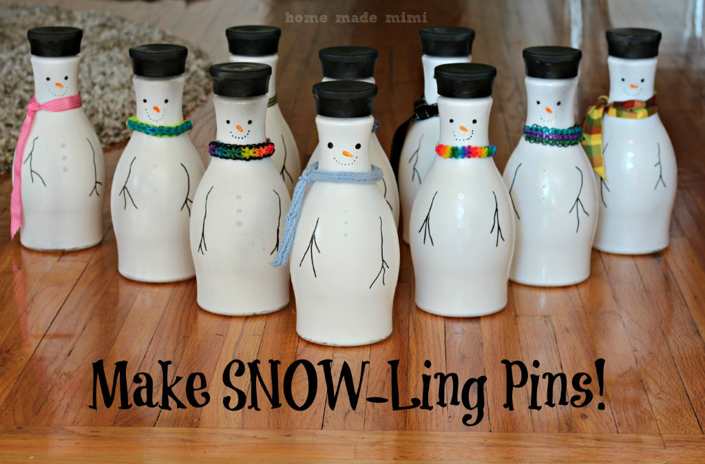 Snow-Ling Pins! - Home Made MimiHome Made Mimi