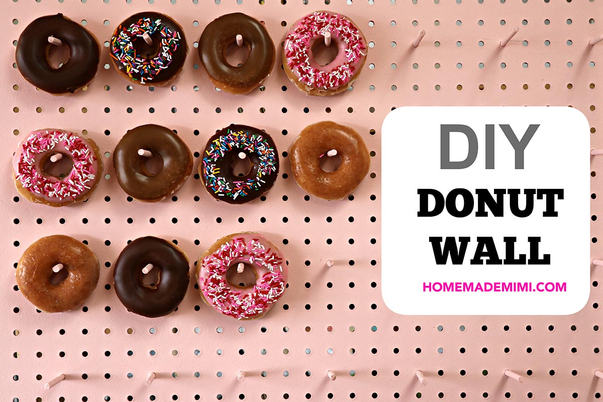 Diy Donut Wall Home Made Mimihome Made Mimi